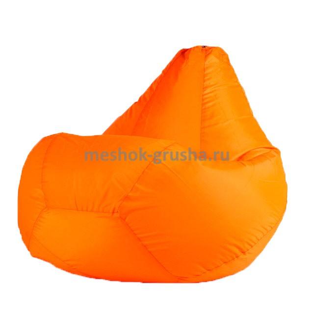 Кресло Мешок Груша Оранжевое (Оксфорд) (3XL, Классический)