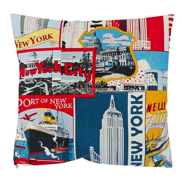 Декоративная Подушка New York