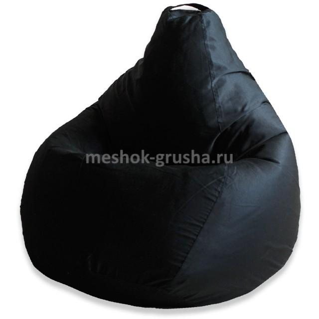 Кресло Мешок Груша Фьюжн Черное (XL, Классический)