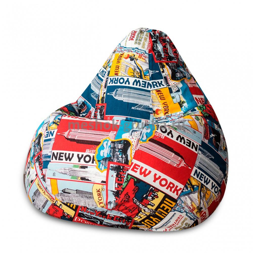 Кресло Мешок Груша New York (L, Классический)