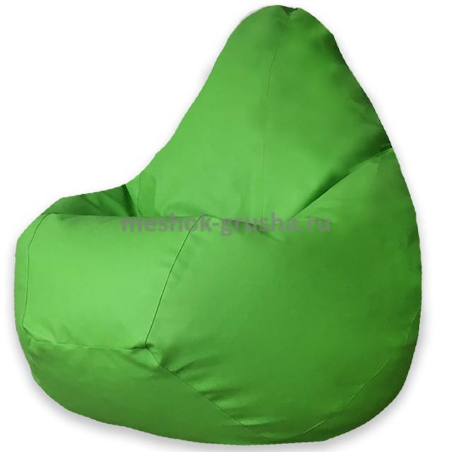 Кресло Мешок Груша Зеленая ЭкоКожа (2XL, Классический)