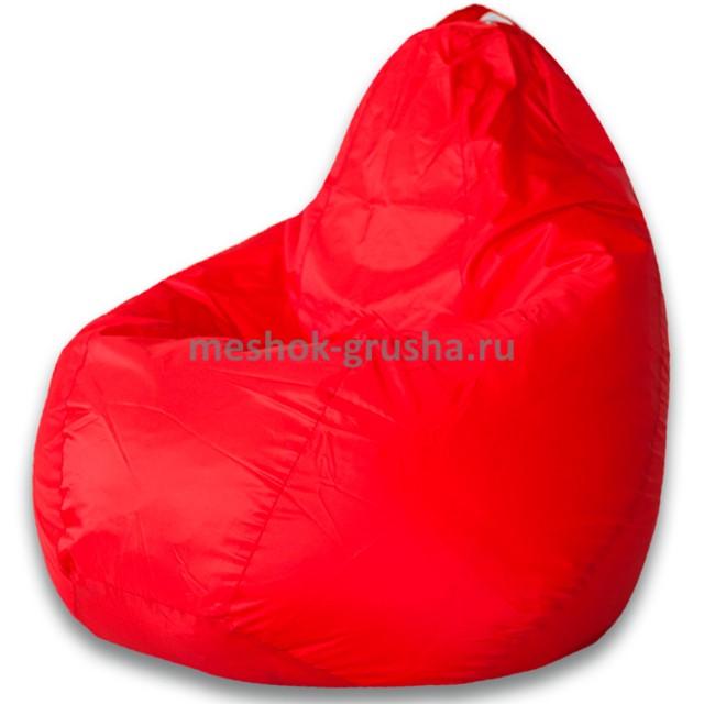 Кресло Мешок Груша Красное (Оксфорд) (2XL, Классический)