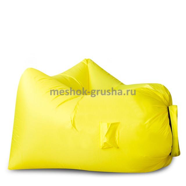 Надувное кресло AirPuf Желтое